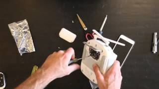 How To Install The HDMI board into DJI Phantom 3 or 4 Remote Transmitter - Part No 54
