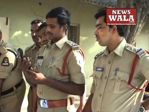 Police gun training at Petlaburuj, Hyderabad
