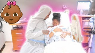 OUR BABY GIRL IS HERE (LABOR & DELIVERY VIDEO)‼️ tay and jass