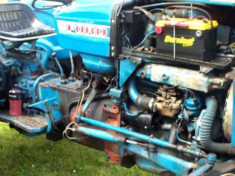 1965 FORD 3000 TRACTOR YouTube