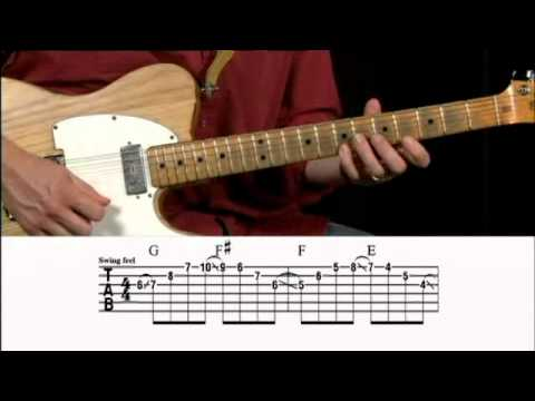 Country Swing Licks Guitar Lesson @ GuitarInstructor.com (preview)