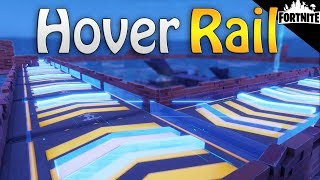 FORTNITE - Fastest Ways To Travel Around The Map (How To Build A Hover Rail)