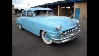 1952 Blue Desoto Custom Walkaround