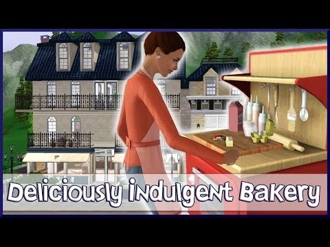 The Sims 3 Store :  Deliciously Indulgent Bakery Overview