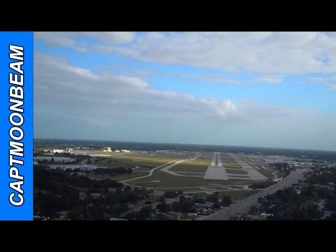 Cessna Citation Encore Landing Sarasota