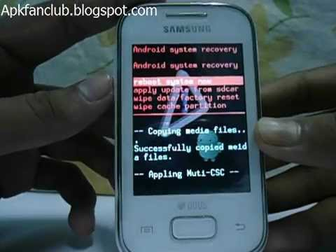 Unroot Samsung Galaxy Y Duos Lite/GT-S5302 Android Phone