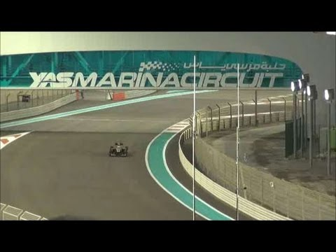 2012 FORMULA 1 ETIHAD AIRWAYS ABU DHABI GRAND PRIX Qualifying Session 3