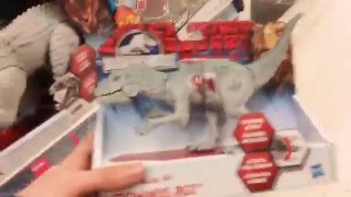 Jurassic world toy hunt