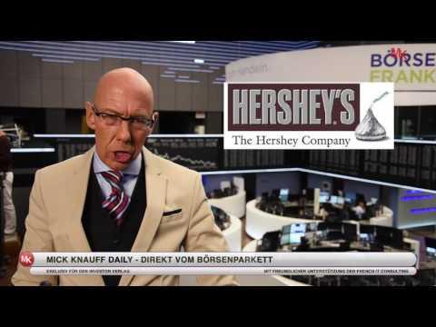 Nächste Übernahme? Mondelez will Hershey's kaufen! Mick Knauff Daily - 11.07.2016
