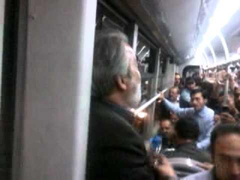 اتفاق جالب در اتوبوس تندرو تجریش به راه آهن تهران