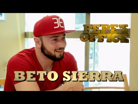 BETO SIERRA EN CONFIANZA CON PEPE GARZA - Pepe's Office