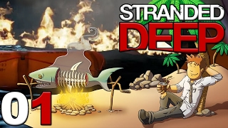 MON AVION SE CRASH EN MER ! (Stranded Deep #1)