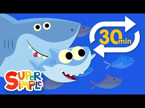 Baby Shark (Extended Mix - 30 Mins!) | Kids Songs | Super Simple Songs