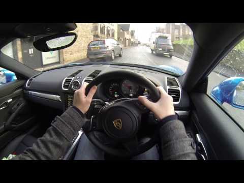 2016 Cayman 981 POV Slow Drive UK Streets
