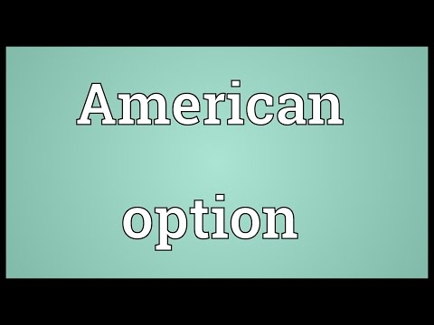 Header of American option