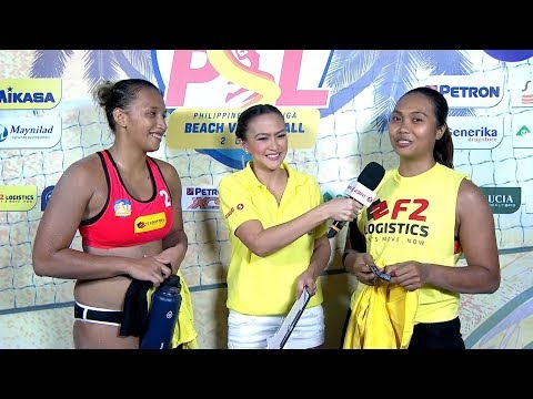Match Interview | PSL Beach Volleyball Challenge Cup 2018