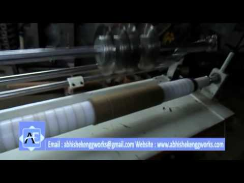 Pneumatic Paper Core Cutting Machine