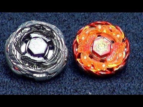Beyblade 4D Diablo Nemesis Versus Sol Blaze