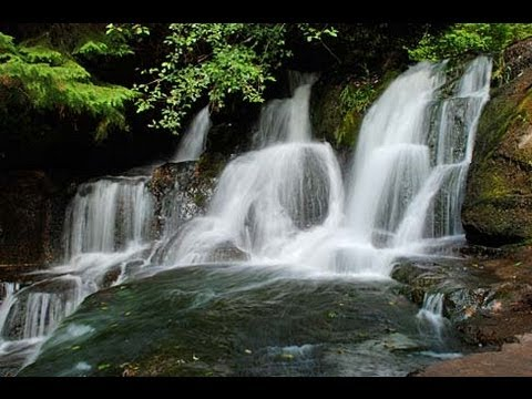 ♥♥ Very Relaxing 3 Hour Video Of Small Waterfall video