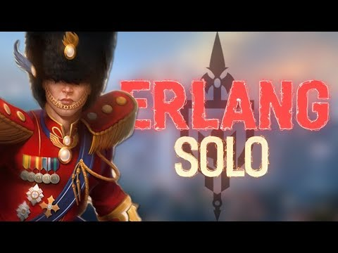 ERLANG SOLO: IS THIS HOW YOU SOLO LANE?!? - Incon - Smite