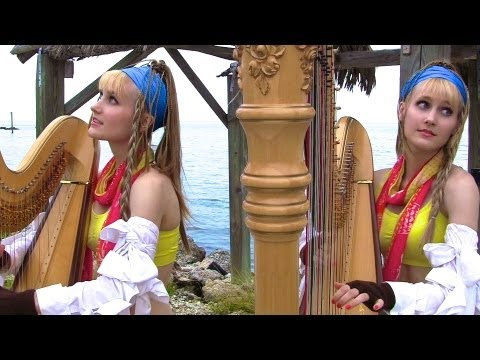 FINAL FANTASY Medley (Harp Twins) Camille and Kennerly, Harp Duet