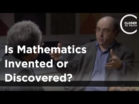 Closer To Truth asks Stephen Wolfram: Is Mathematics Invented or Discovered?