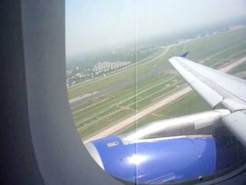 IndiGo Airbus A320 Take-Off from Delhi Airport