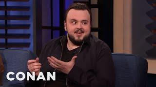 "John Bradley: ""Game Of Thrones"" Fans Don't Necessarily Know My Name - CONAN on TBS"