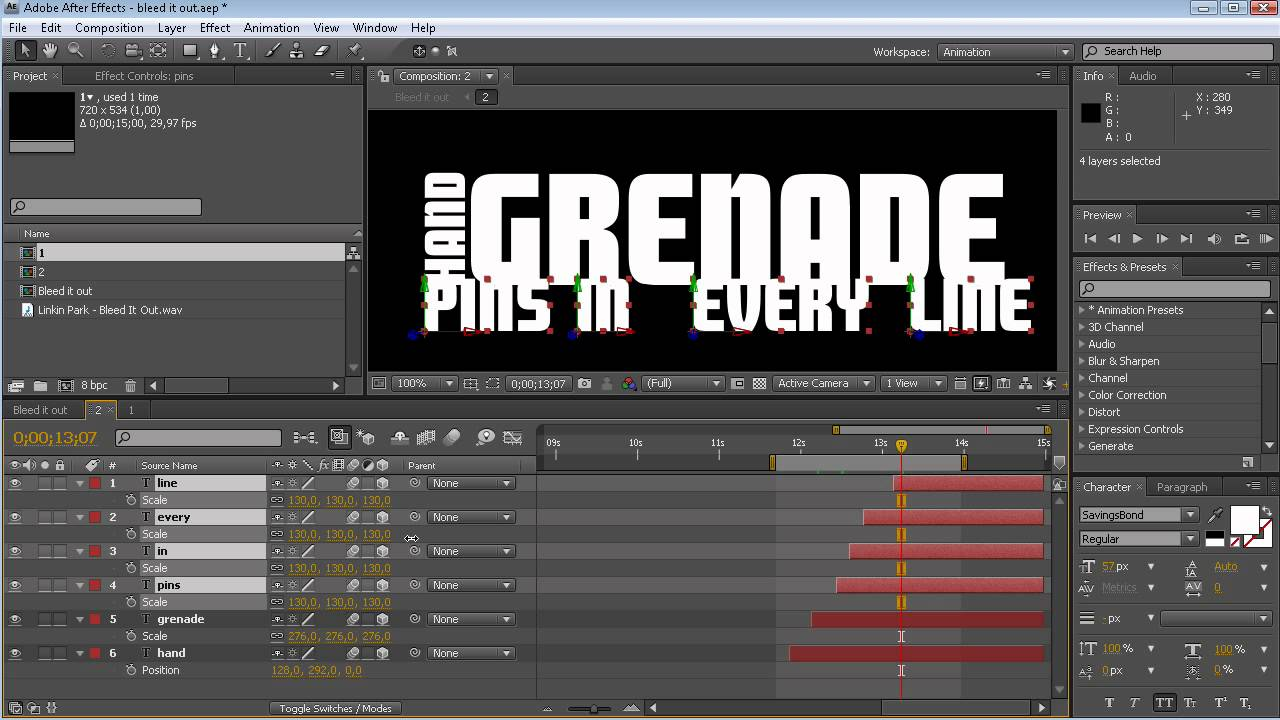 how to cut video in adobe after effects