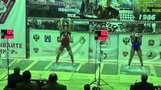 Open Military Cup of kettlebell sport 2016 Ivan Denisov VS Nikolai Kichimaev Long cycle