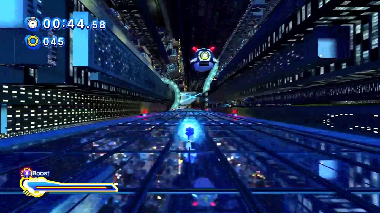 Sonic Generations - Speed Highway Act 2 Speed Run 1:38 ...