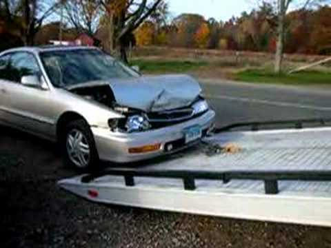 1996 Honda Accord Crash Youtube