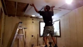 Home made drywall lift