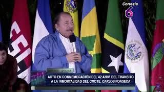 Así abordaron la Unión Europea y Daniel Ortega la crisis en Nicaragua