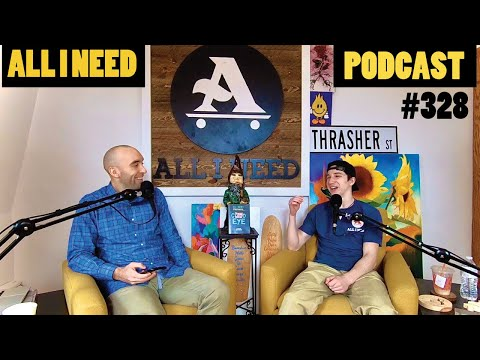 ALL I NEED PODCAST trying not to panic with Jacob Jensen #328