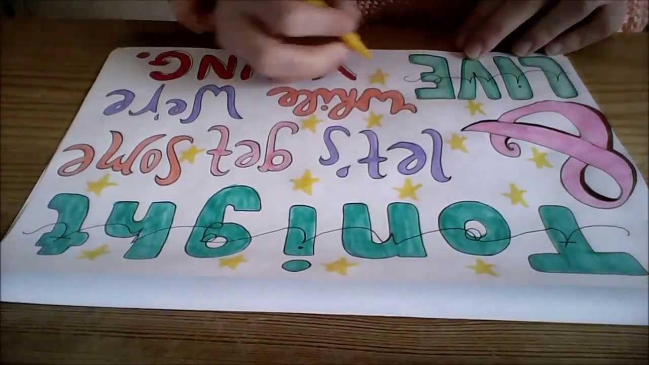 One Way or Another Lyrics Drawing Lwwy Lyric Drawing Tutorial