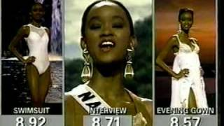 MISS UNIVERSE 1994 Parade Of Nations