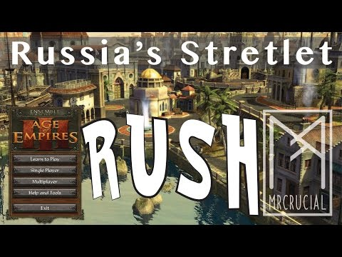 Expert Stretlet Rush | Age of Empires 3 | Russia Vs Dutch | with commentary | Great Plains