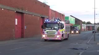 *RARE* Merseyside Fire & Rescue - Pink Pump Responding on Two Tones