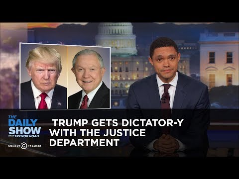 Trump Gets Dictator-y with the Justice Department: The Daily Show