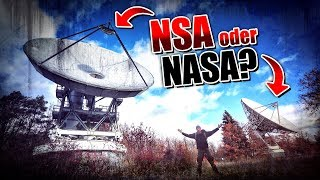 NASA oder NSA? Verlassene Satelliten-Station - LOST PLACES | Fritz Meinecke