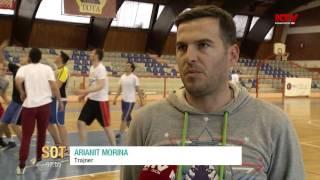 SOT - Basketbollisti Egzon Vatovci thyen barrierat, 11 04 2016