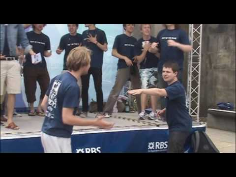 Out of the Blue (Oxford University) - all-male a cappella vocal group at the Edinburgh Fringe 2009