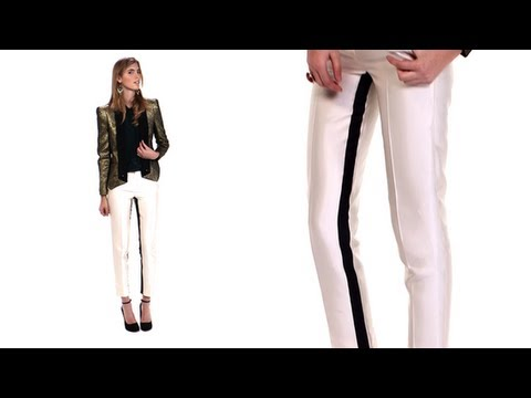 How to Wear Tuxedo Pants, Holiday Party Look, Currently Trending