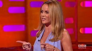 Amanda Holden's Nipples Insured for $2 Million? - The Graham Norton Show