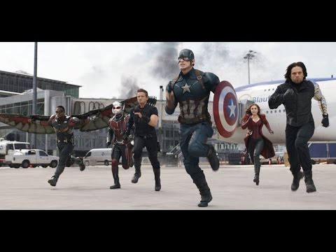 Captain American: Civil war - Hotest scenes in movie thumbnail