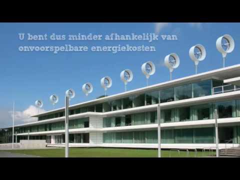 Kleinwind Kraftanlage 1,5 KW donQi präsentier von PWE Pure Wind Energy