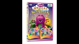 Barney's Musical Scrapbook (2004 Hit Entertainment VHS Rip) (IT'S THE REAL DEAL!!!)