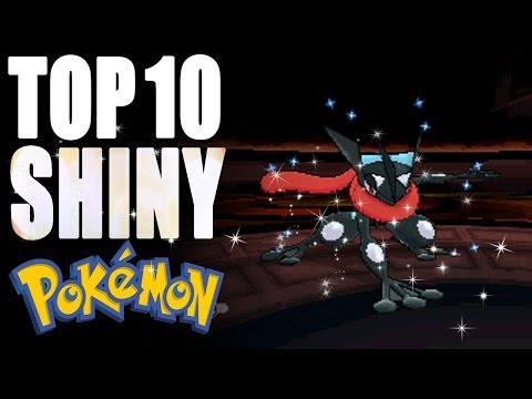 Top 10 Shiny Pokémon
