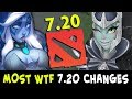 Most WTF and CANCER 7.20 update changes